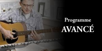 Cours de guitare avancé - Rive Sud La Prairie Longueuil Mercier St-Bruno St-Constant St-Lambert